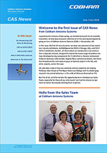 Cobham Antenna Systems Launches Newsletter