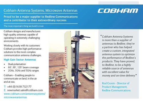 Cobham Advert Placed in Business Focus